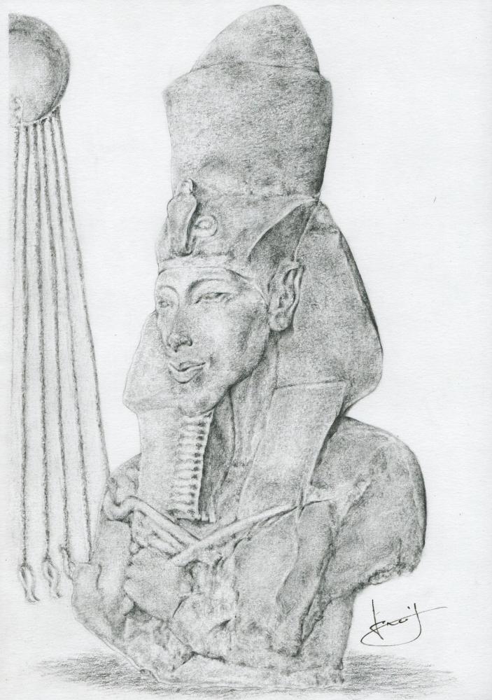 Akhenaton par portraitemoi